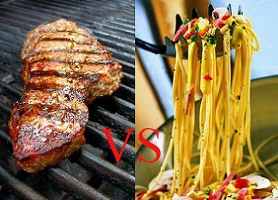 La dieta rica en carbohidratos es más satisfactoria que la rica en grasas