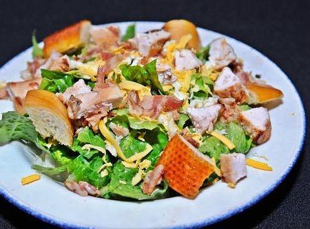 ensalada plato postre