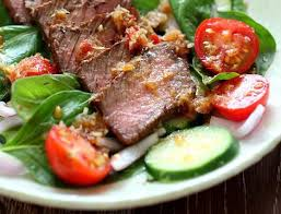 comer carne solomillo