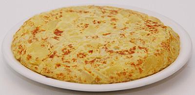 La tortilla de patatas al micoondas aporta muchas menos calorías