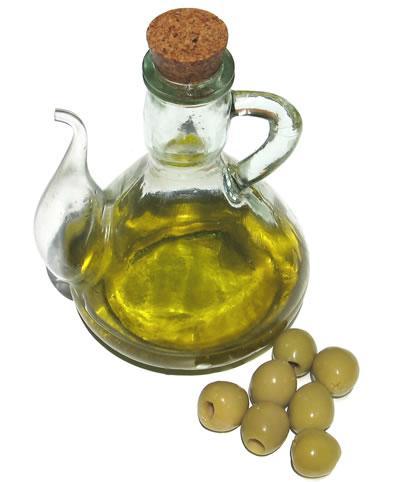 El aceite de oliva apenas contiene colesterol