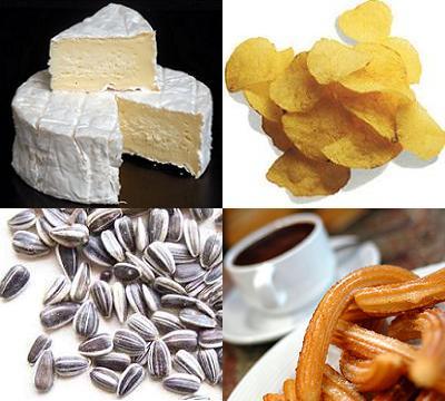 Alimentos muy calóricos