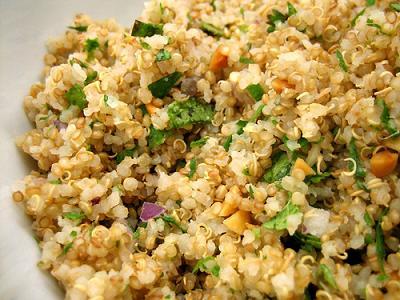 La quinoa es muy energética