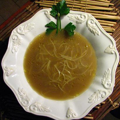 Las sopas son perfectas en invierno