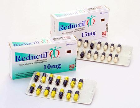 a efectividad del Reductil (subitramina) para adelgazar