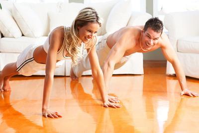 Es importante hacer ejercicio en casa