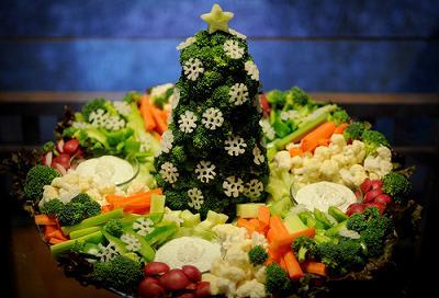 ideas para presentar tus platos en navidad