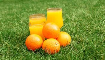 naranjas y vitamina C