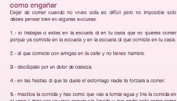 blog proanorexia