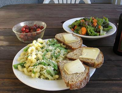 comer fuera de casa, con tupper