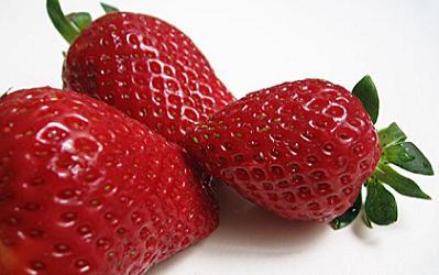 Las fresas son frutas de primavera