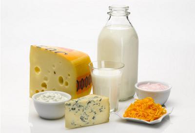 ración de lácteos al día