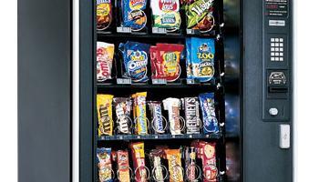 maquina expendedora de chucherias, bollos, chocolatinas