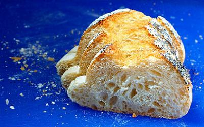 el pan en la dieta sana y variada