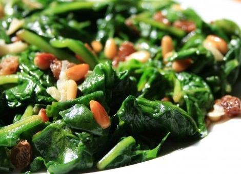 recetas con espinacas ideales para perder peso